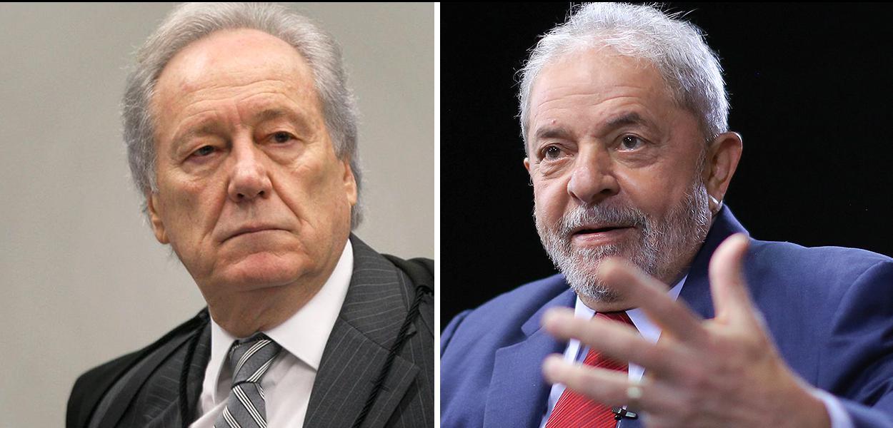 Lewandowski e Lula.