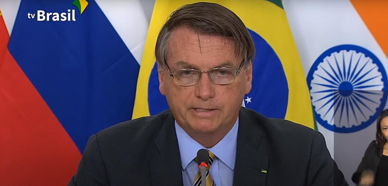 Jair Bolsonaro discursa na 12º cúpula do BRICS