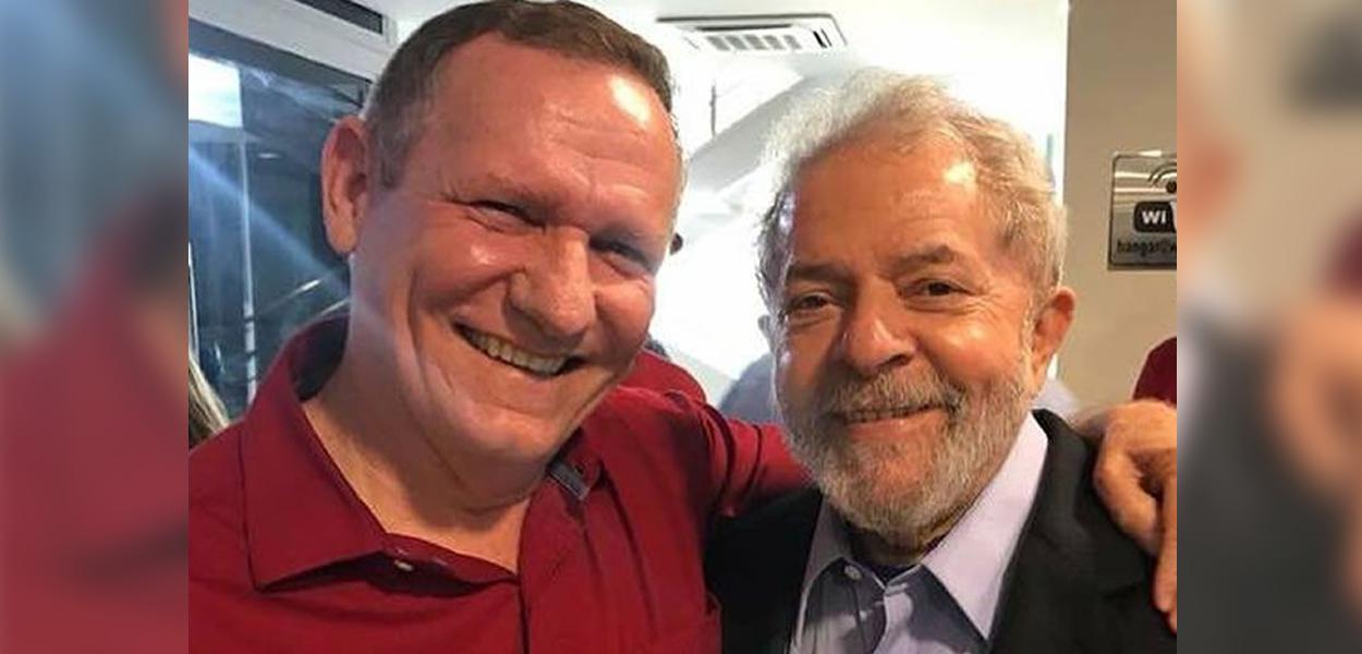 João Coser e Lula
