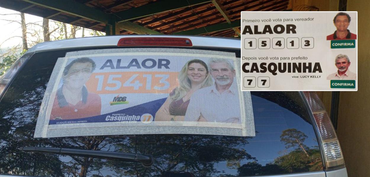 Candidato do MDB em Jambeiro (SP) fez campanha com número errado