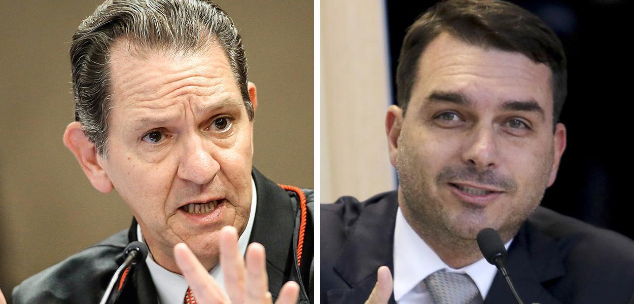 João Otávio de Noronha e Flávio Bolsonaro
