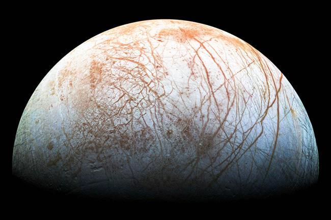 O satélite Europa
