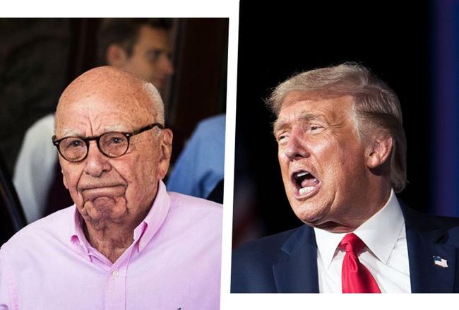 Rupert Murdoch e Donald Trump
