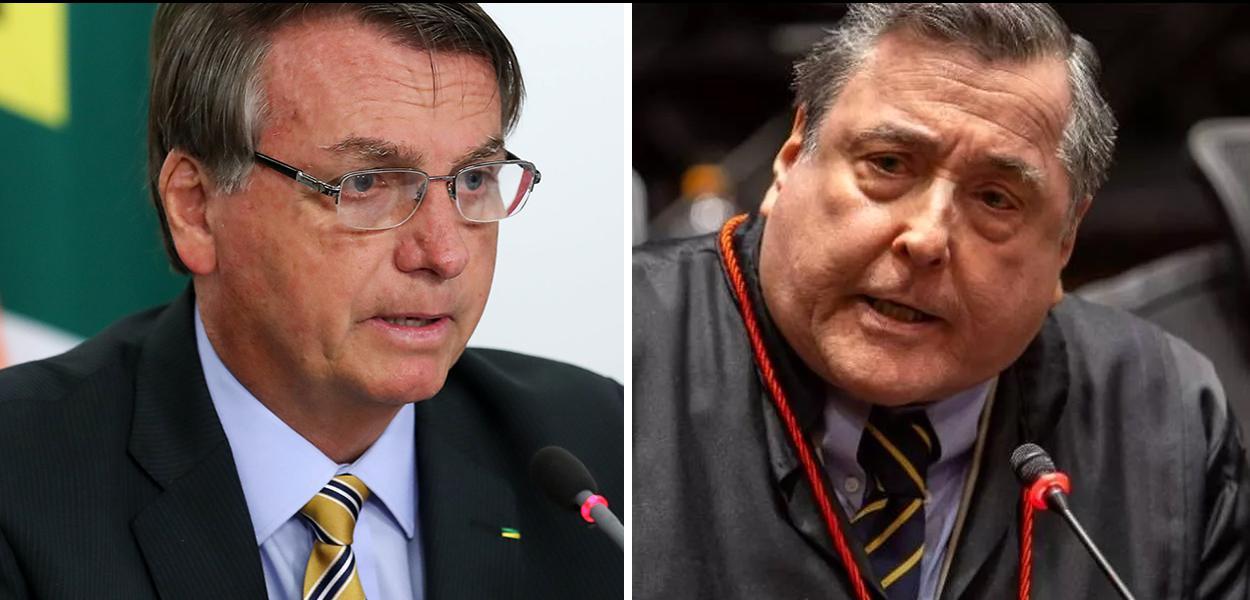 Bolsonaro e Bernardo Moreira Garcez Neto.