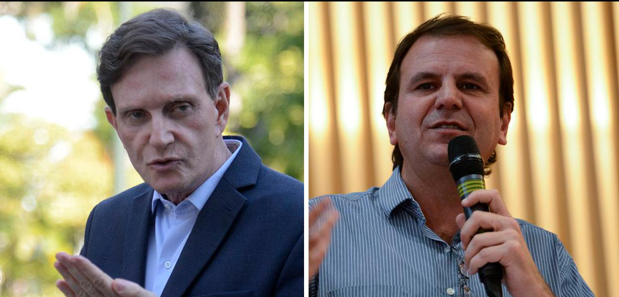 Marcelo Crivella e Eduardo Paes