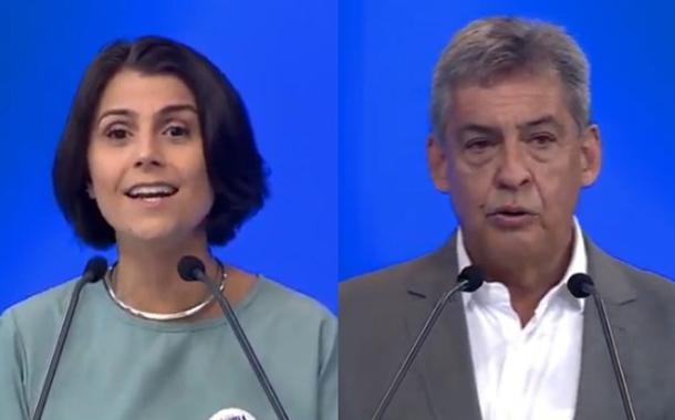 Manuela D´Ávila e Sebastião Melo