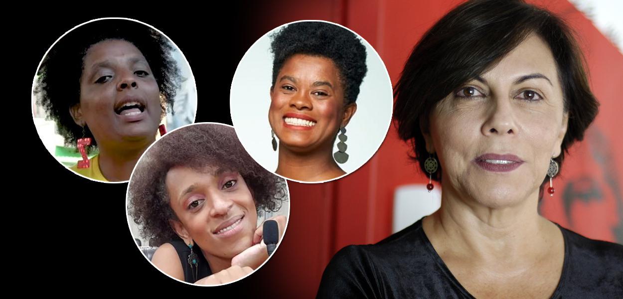 Elaine do Quilombo Periférico, Erika Hilton, Carol Dartora e Patrícia Zaidan