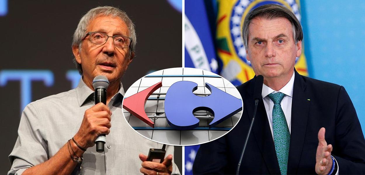 Abílio Diniz, Carrefour e Bolsonaro
