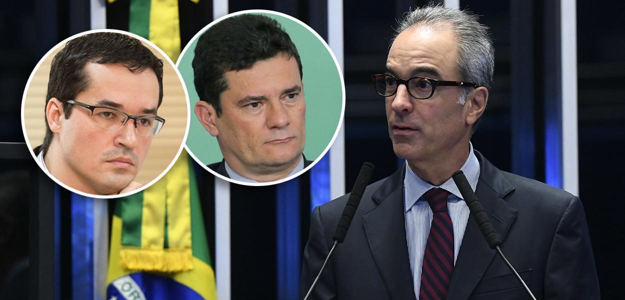 Deltan Dallagnol, Sergio Moro e João Roberto Marinho
