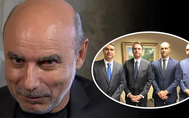 Fabrício Queiroz e família Bolsonaro