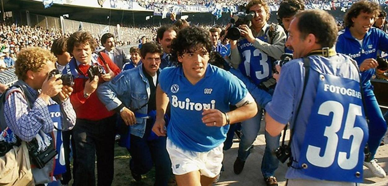 Diego Maradona, ídolo eterno do Napoli