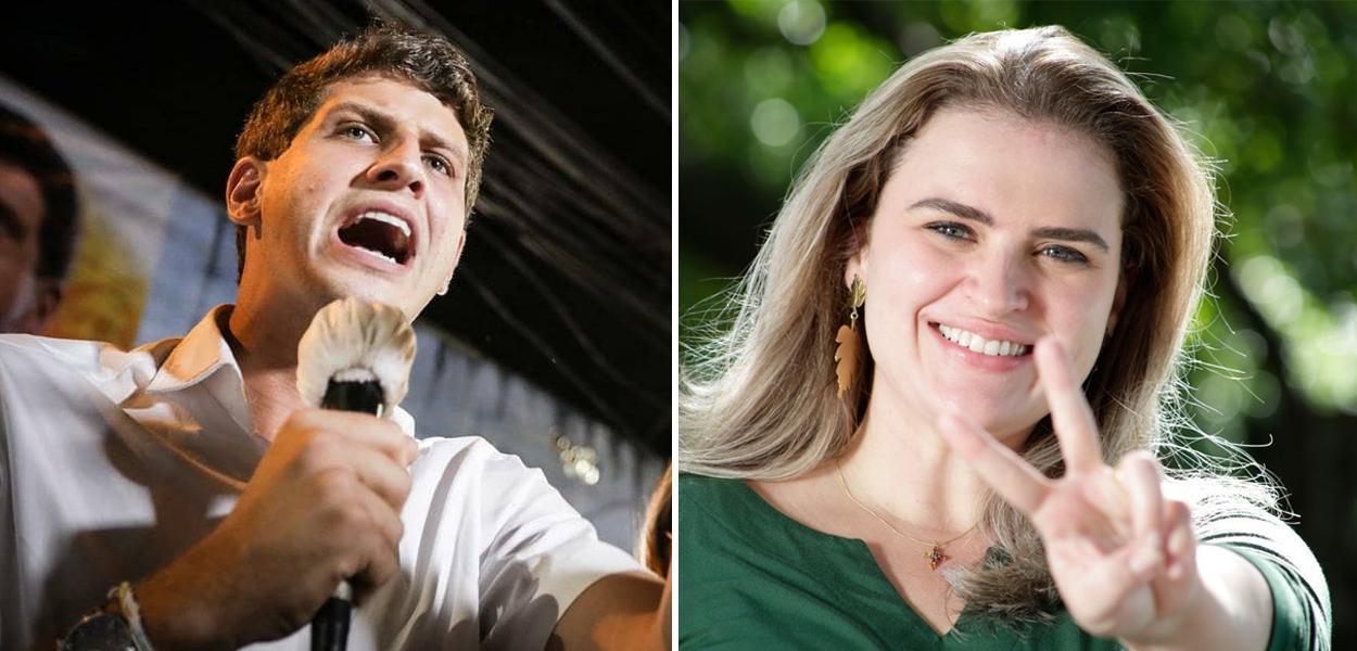 João Campos e Marília Arraes