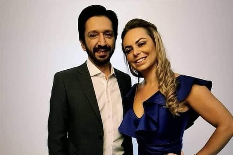 Ricardo Nunes e Regina Carnovale