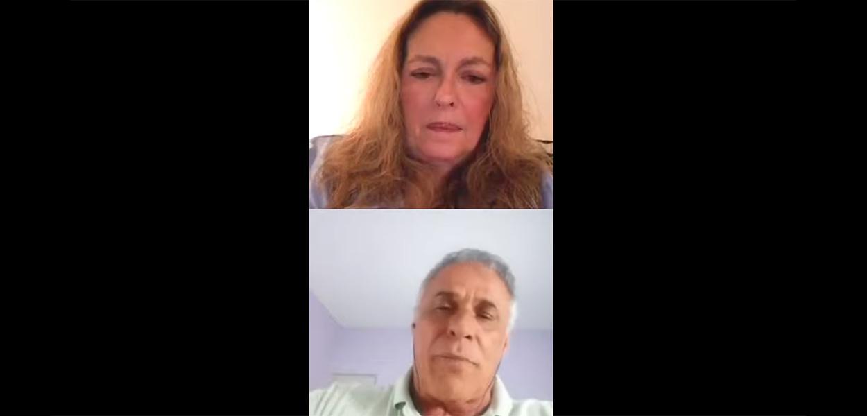 Maria Zilda Bethlem e Oscar Magrini