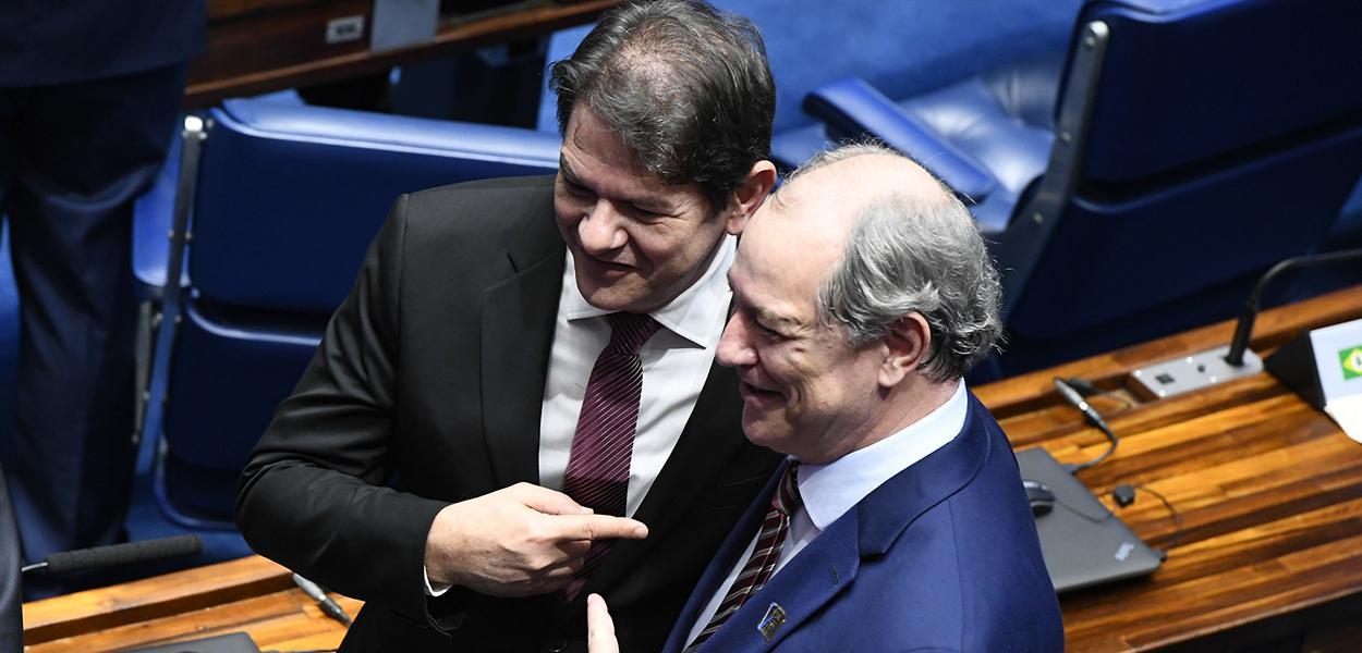 Cid Gomes e Ciro Gomes, ambos do PDT-CE