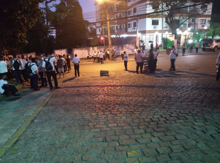 Greve de motoristas no RJ prejudica as eleições; Reprodução/Twitter - @legal_rj