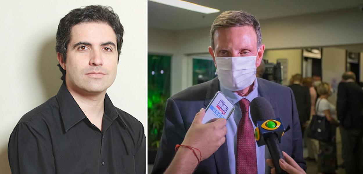 Bernardo Mello Franco e Marcelo Crivella