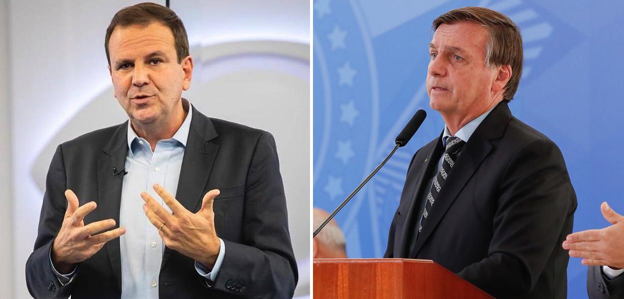 Eduardo Paes e Jair Bolsonaro