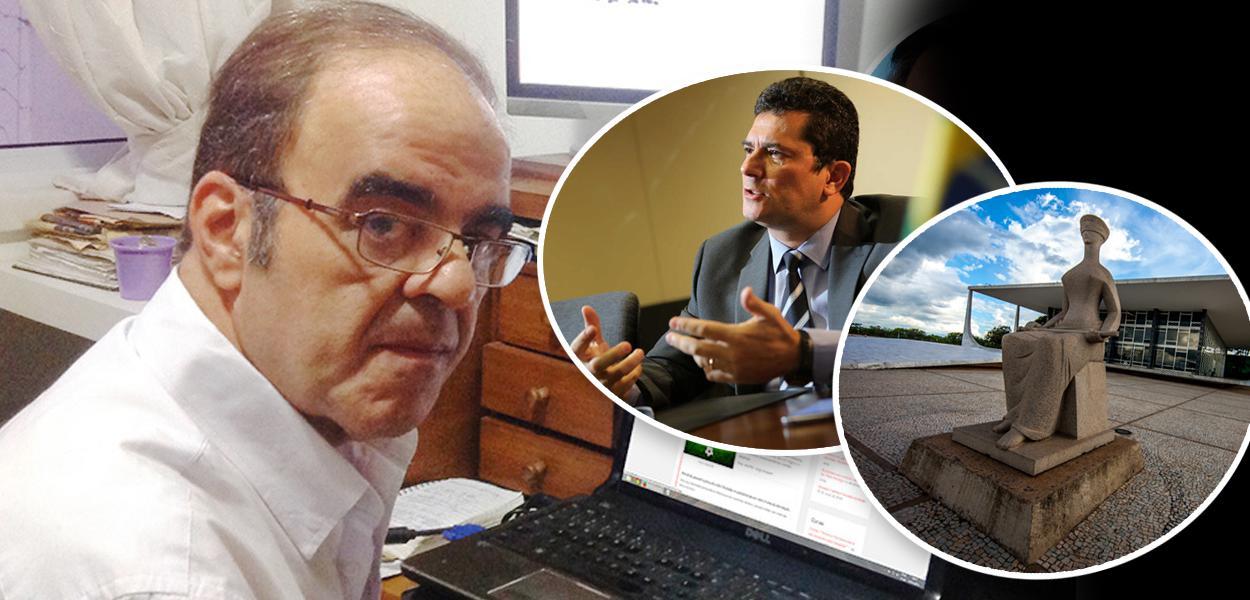 Marcelo Auler, Sergio Moro e fachada do STF