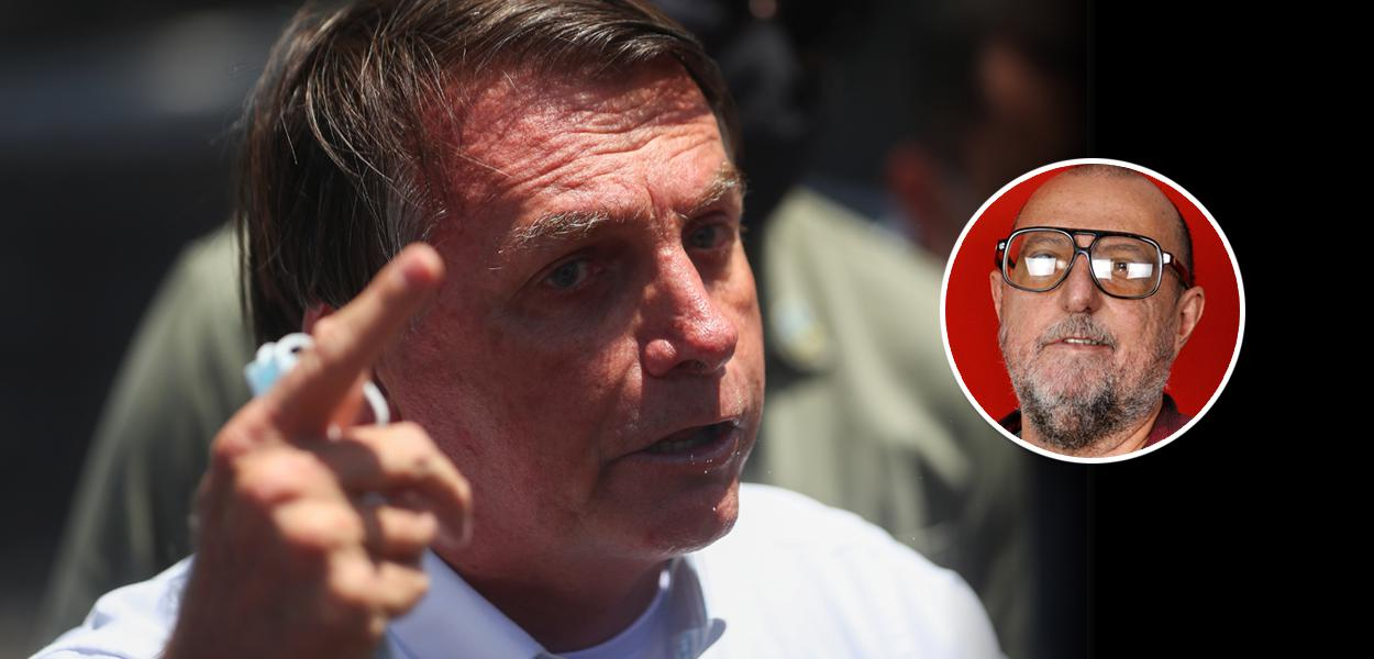 Jair Bolsonaro e Xico Sá