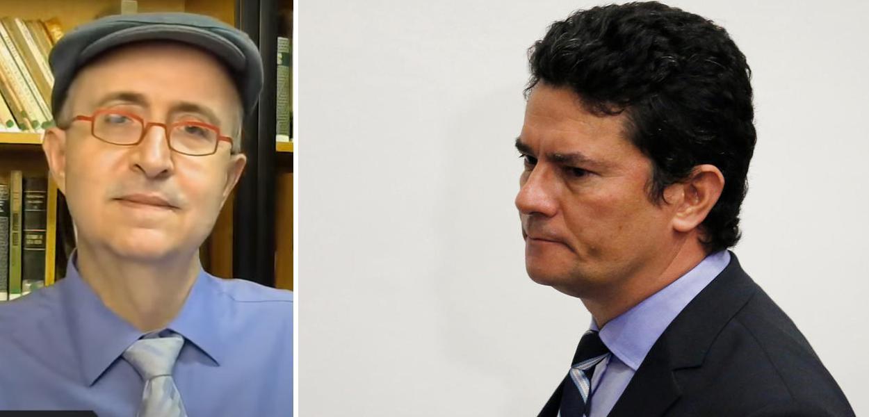 Reinaldo Azevedo e Sergio Moro