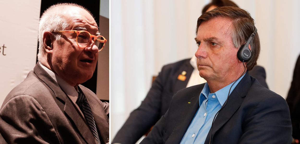 Elio Gaspari e Jair Bolsonaro