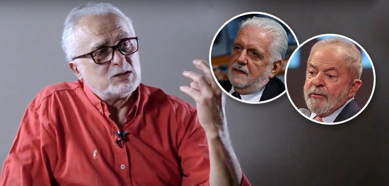 José Genoíno, Jaques Wagner e Lula