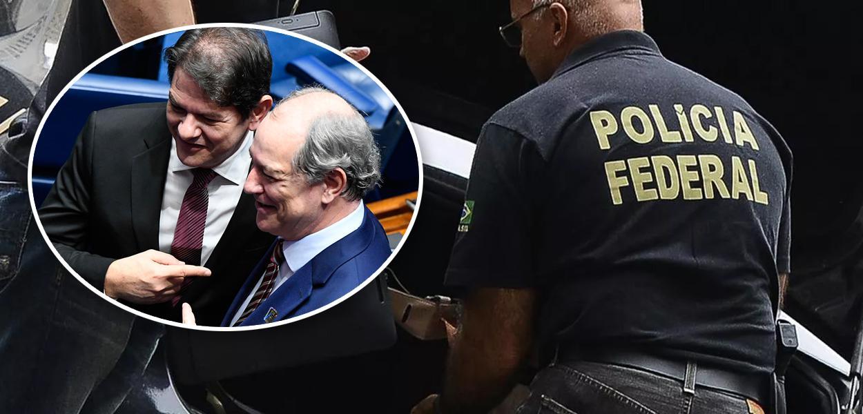 Cid e Ciro Gomes; Polícia Federal