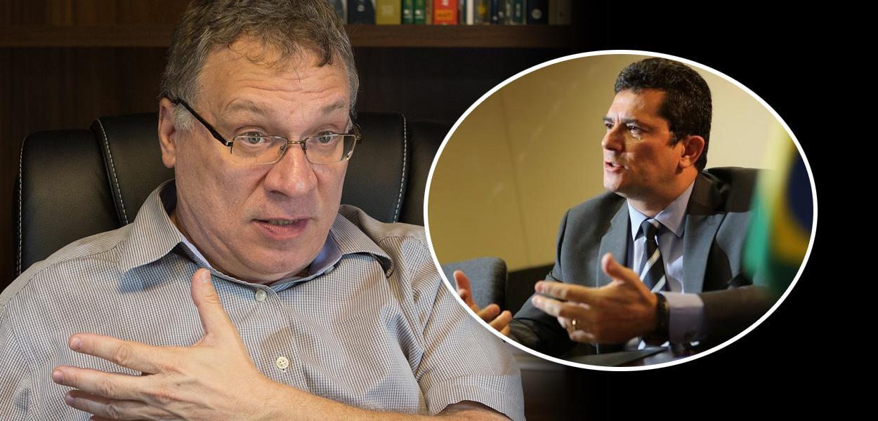 Eugênio Aragão e Sergio Moro