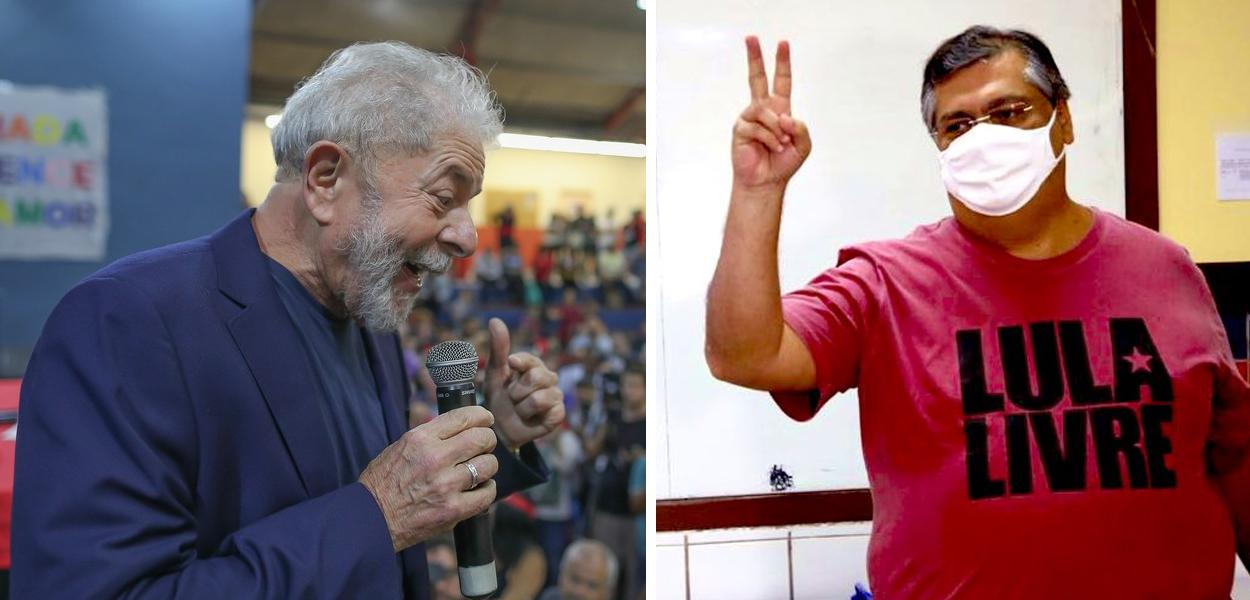 Lula e Flávio Dino