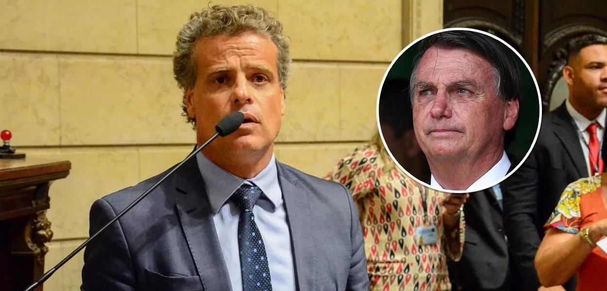 Leonel Brizola Neto e Jair Bolsonaro