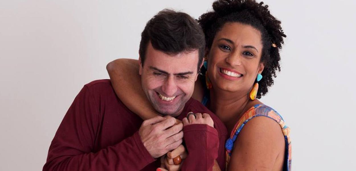 Marcelo Freixo e Marielle