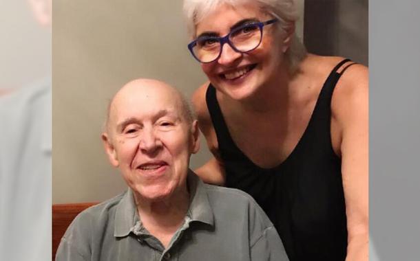 Orlando Duarte e a esposa Conceição