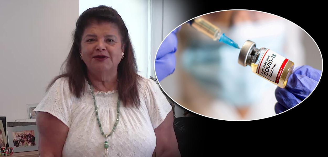 Luiza Trajano / vacinação