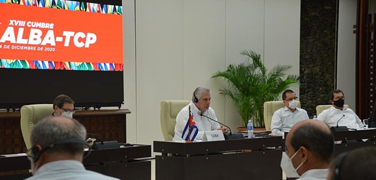 """Cuba e Venezuela anunciam a """"vacina da Alba"""""""