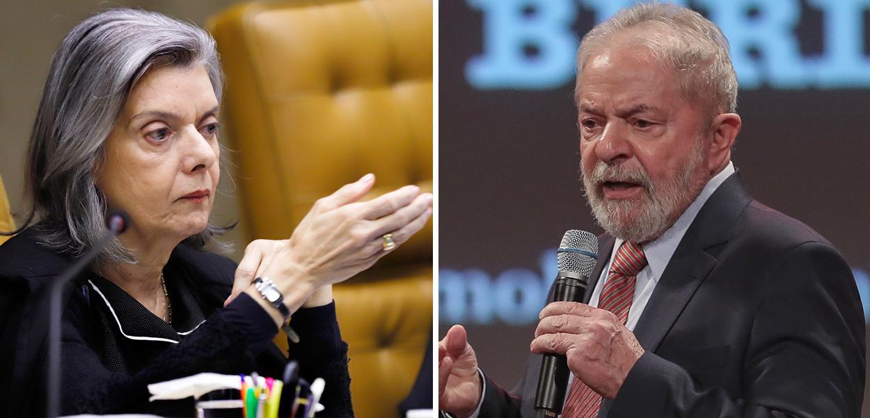 Cármen Lúcia e Lula