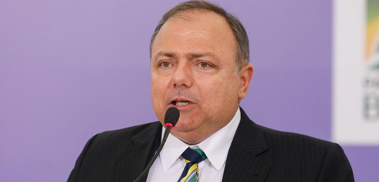 Ex-ministro Eduardo Pazuello