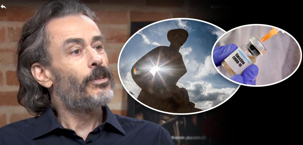 Guilherme Fiúza, fachada do STF e vacina