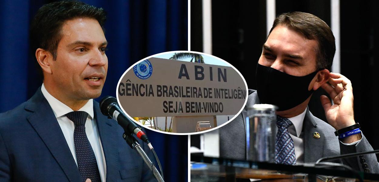 Alexandre Ramagem, ABIN e Flávio Bolsonaro
