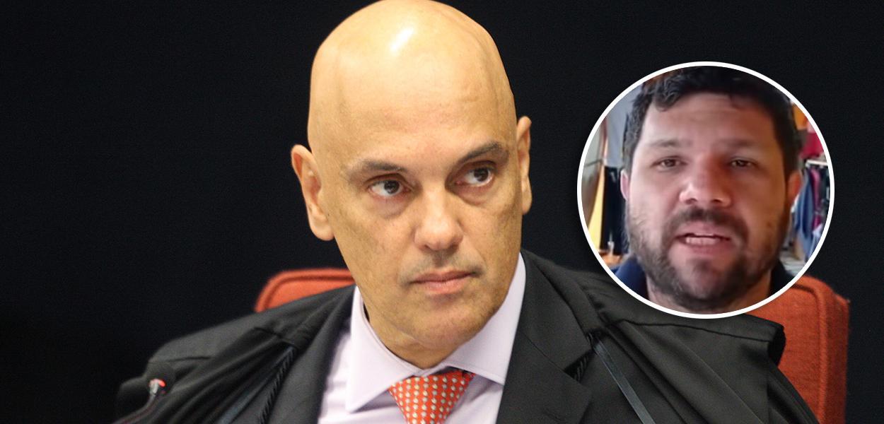Alexandre de Moraes e Oswaldo Eustáquio