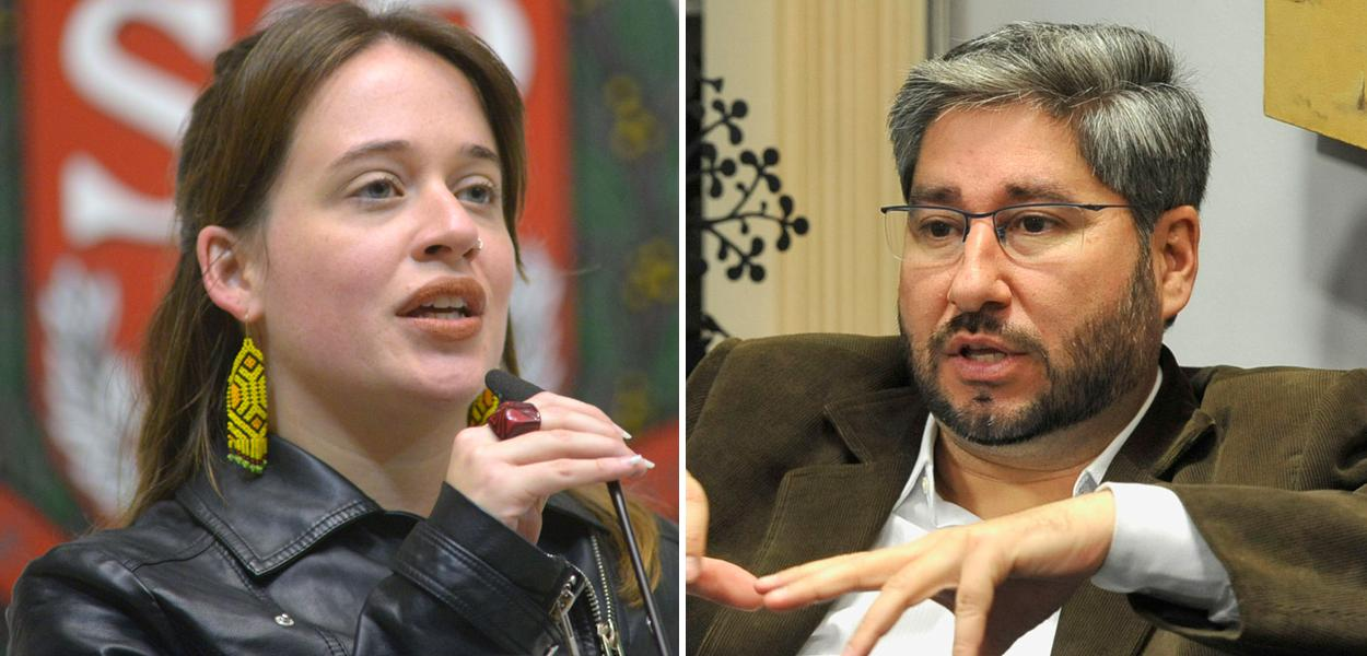 Isa Penna e Fernando Cury