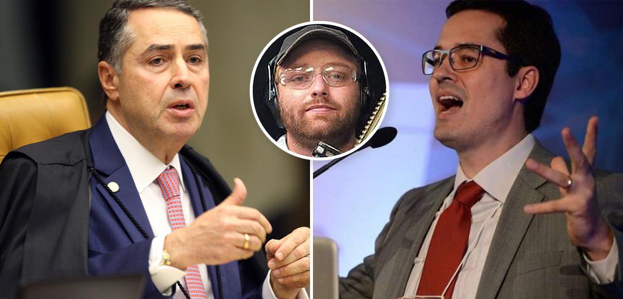 Barroso, Walter Delgatti Neto e Deltan Dallagnol