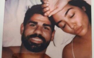 Diego Costa e mulher, Foto: Reprodução/The Sun
