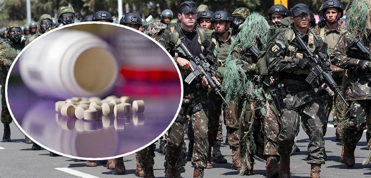 Cloroquina e o Exército brasileiro