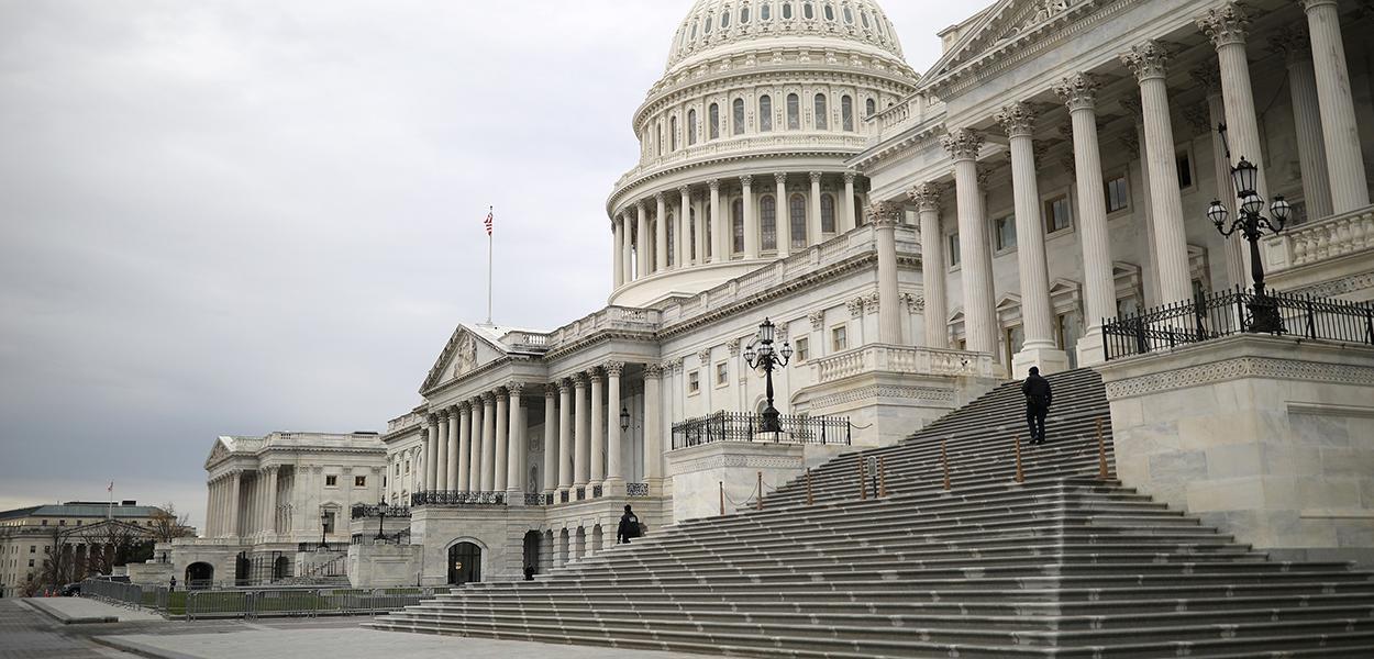 Prédio do Capitólio dos EUA .04/12/2020