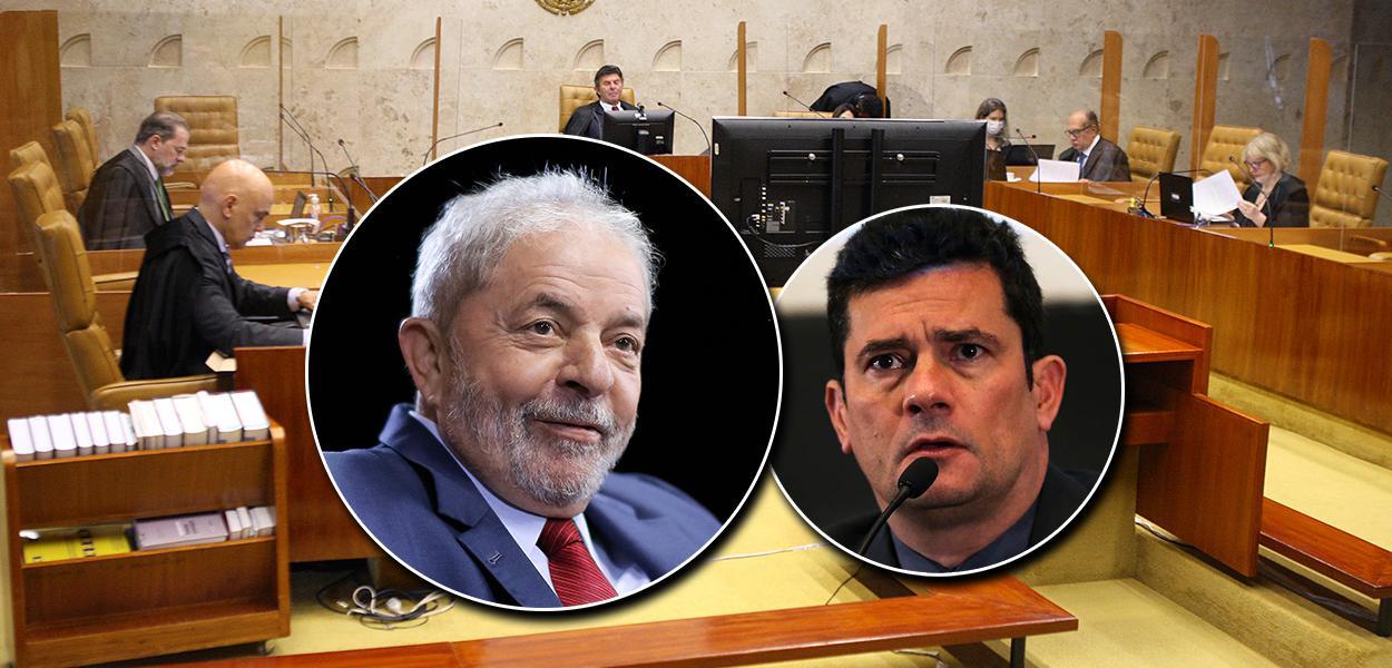 STF, Lula e Moro