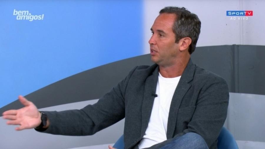 Caio Ribeiro, da TV Globo