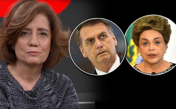 Miriam Leitão pede impeachment de Bolsonaro e começa a reconhecer injustiça no golpe contra Dilma