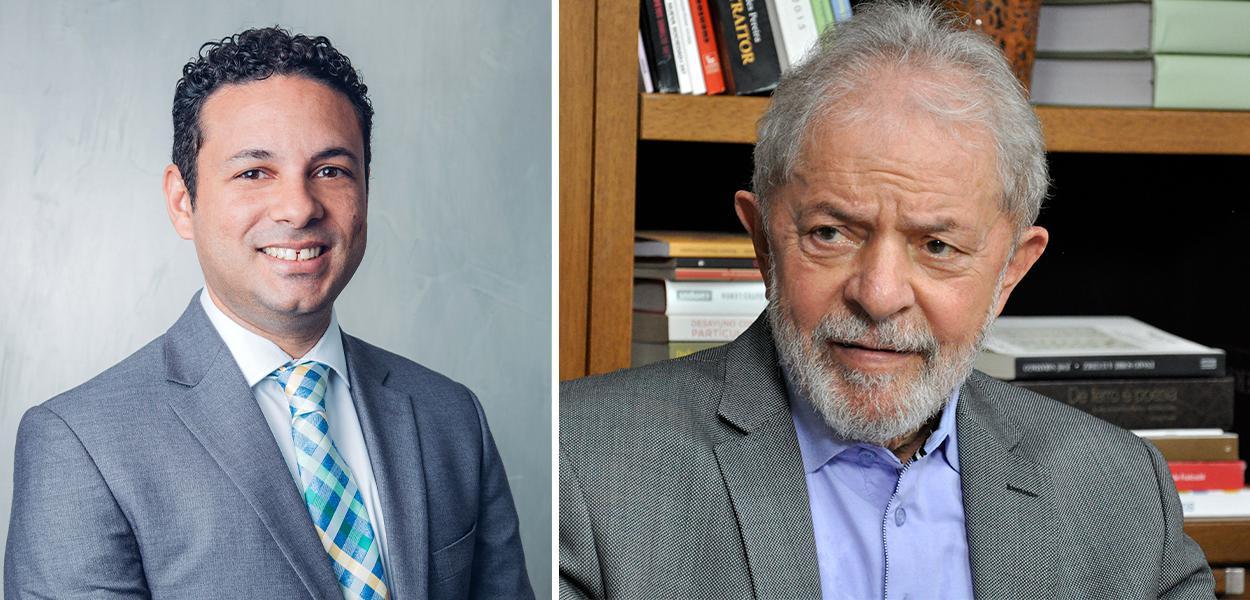 Diogo Santana e Lula
