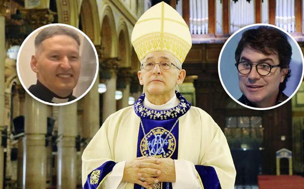 Padre Marcelo Rossi, Dom Alberto Taveira Corrêa e Padre Fábio de Melo